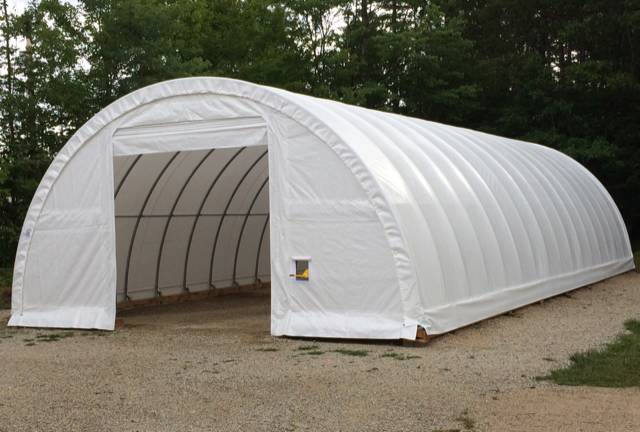 30x65x15 – Commercial Shelter   Paul's Instant Garages ...